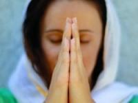 Поза во время молитвы
