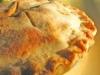 Пирог со свежими яблоками