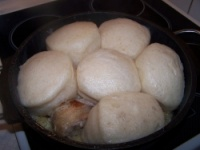 Хобос - горячее блюдо на костре