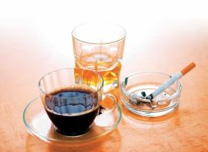 Е. Уайт. Чай, кофе, табак и алкоголь в сравнении с мясом, яйцами, маслом и сыром