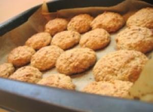Печенье с яблочным пюре